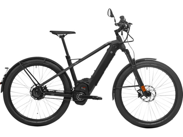 HNF-NICOLAI XD2 URBAN 19 S/M Urbanbike (27.5 Zoll, 43.5 cm, 500 Watt, Schwarz)