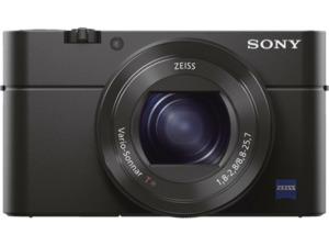 SONY Cyber-shot DSC-RX100 III Zeiss Digitalkamera Schwarz, 20.1 Megapixel, 2.9x opt. Zoom, Xtra Fine/TFT-LCD, WLAN