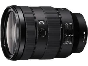 SONY SEL24105G 24 mm-105 mm f/4 G-Lens, OSS, DMR, FHB, ED, ASPH, Circulare Blende (Objektiv für Sony E-Mount, Schwarz)