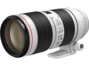 CANON EF 70-200mm f/2.8L IS III USM 70 mm-200 mm f/2.8 EF, L-Reihe, USM, IS (Objektiv für Canon EF-Mount, Weiss)