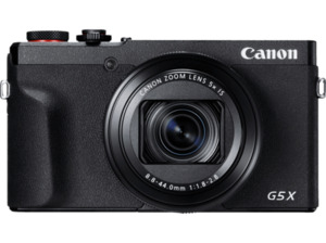 CANON Powershot G5 X Mark II Digitalkamera Schwarz, 20.1 Pixel, 5 fach opt. Zoom, Touchscreen-LCD (TFT)