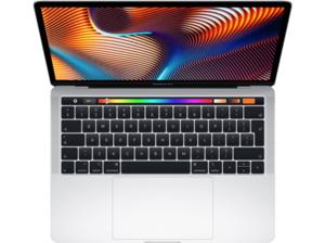 APPLE MUHQ2D/A MacBook Pro, Notebook mit 13.3 Zoll Display, Core i5 Prozessor, 8 GB RAM, 128 GB SSD, Intel Iris Plus Graphics 645, Silber