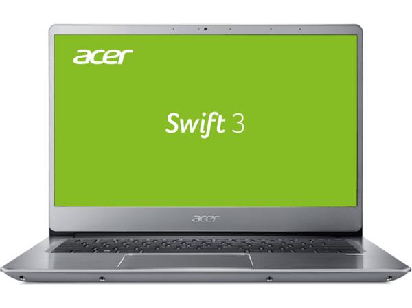 ACER Swift 3 (SF314-56G-75SV), Notebook mit 14 Zoll Display, Core™ i7 Prozessor, 8 GB RAM, 256 GB SSD, 1 TB HDD, NVIDIA® GeForce® MX250, Silber