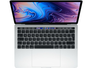 APPLE MacBook Pro MV992D/A mit deutscher Tastatur, Notebook mit 13.3 Zoll Display, Core i5 Prozessor, 8 GB RAM, 256 GB SSD, Intel® Iris™ Plus-Grafik 655, Silber