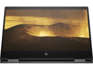 HP ENVY x360 13-ar0305ng, Convertible mit 13.3 Zoll Display, Ryzen 5 Prozessor, 8 GB RAM, 512 GB SSD, AMD Radeon Vega 8 Grafik, Schwarz