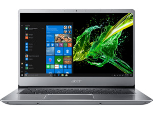 ACER Swift 3 (SF314-56G-75M9), Notebook mit 14 Zoll Display, Core™ i7 Prozessor, 12 GB RAM, 512 GB SSD, 1 TB HDD, GeForce® MX250, Silber