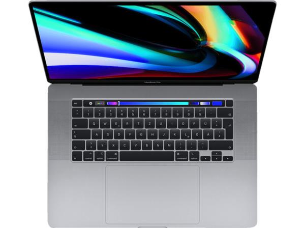 APPLE MVVJ2D/A MacBook Pro, Notebook mit 16 Zoll Display, Core i7 Prozessor, 16 GB RAM, 512 GB SSD, AMD Radeon Pro 5300M, Space Grey