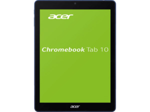 ACER Chromebook Tab 10 (D651N-K68N), Chromebook mit 9.7 Zoll Display, RK3399 Prozessor, 4 GB RAM, 32 GB eMMC, OP1 Prozessor Grafik, Blau