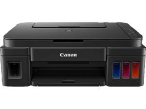 CANON Pixma G2501 2 FINE Druckköpfe mit Tinte (Schwarz und Farbe), Nachfüllbare Tintenbehältern und 2 pl (Min.)feinen Tintentröpfchen Tintenstrahldrucker