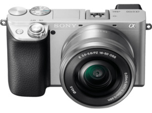 SONY Alpha 6100 Kit (ILCE-6100L) Systemkamera 24.2 Megapixel mit Objektiv 16-50 mm , 7.5 cm Display   Touchscreen, WLAN