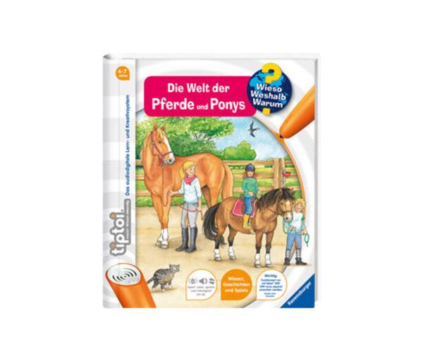 Ravensburger tiptoi®-Buch »Die Welt der Pferde und Ponys«
