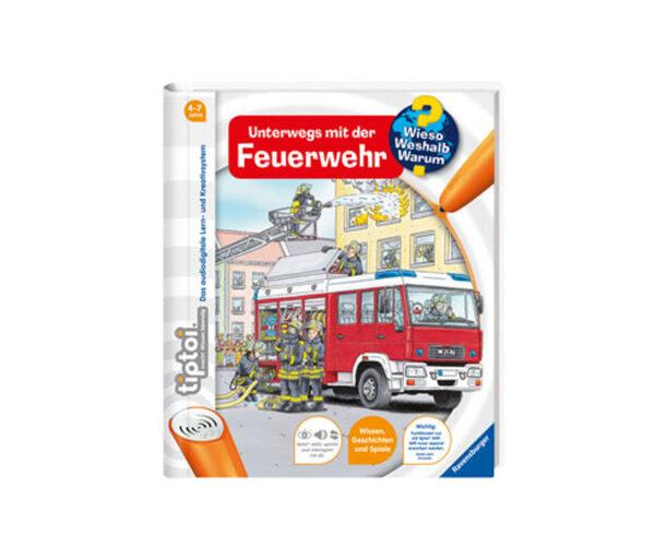 Ravensburger tiptoi®-Buch »Unterwegs mit der Feuerwehr«
