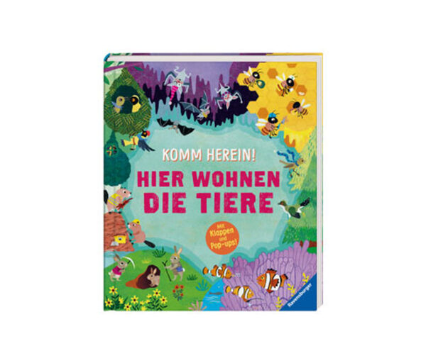 Ravensburger Buch »Komm herein! Hier wohnen die Tiere«