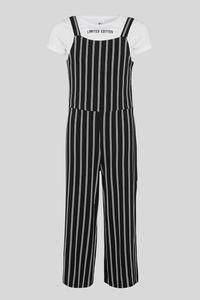 Set - Jumpsuit und Kurzarmshirt