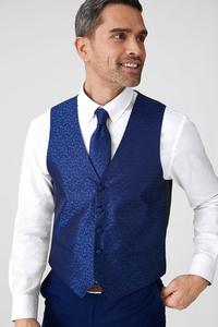 Businessweste mit Krawatte - Regular Fit