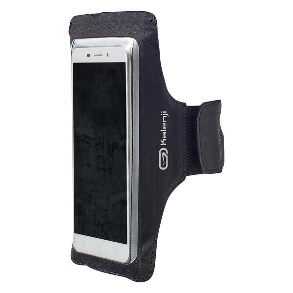 Laufarmband für Smartphones groß schwarz