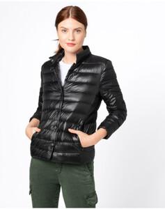 Hallhuber Leichte Daunenjacke für Damen in schwarz