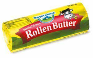 Bayernland Streichfeine Rollen-Butter