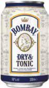 Bacardi Oakheart & Cola, Carta Blanca & Cola oder Bombay Gin & Tonic