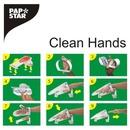 Bild 2 von PAPSTAR Clean Hands Base Kit Edelstahl 11,5 cm x 12,7 cm x 22 cm silber