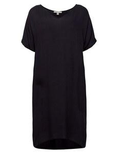 Esprit - Midi-Kleid mit Jersey-Unterkleid
