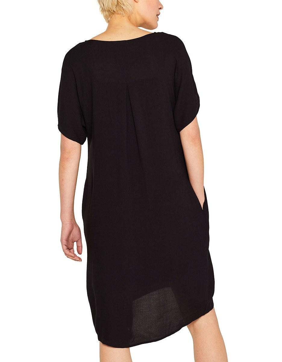 Bild 2 von Esprit - Midi-Kleid mit Jersey-Unterkleid