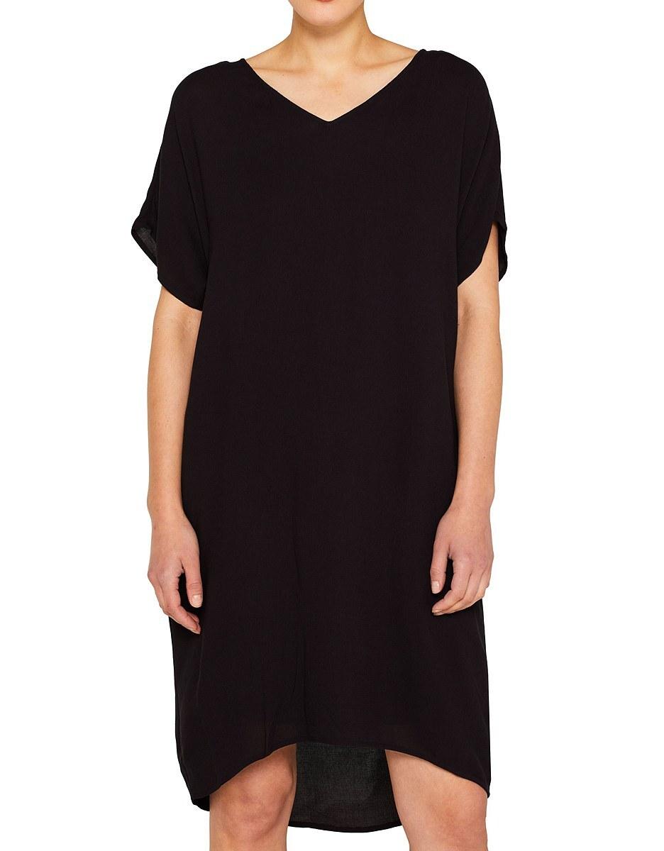 Bild 3 von Esprit - Midi-Kleid mit Jersey-Unterkleid