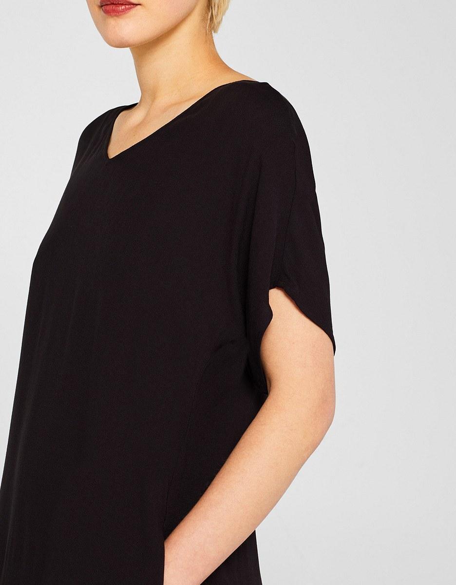 Bild 4 von Esprit - Midi-Kleid mit Jersey-Unterkleid