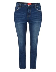 THEA - 5-Pocket-Jeans mit Kontrast-Piping an Taschen