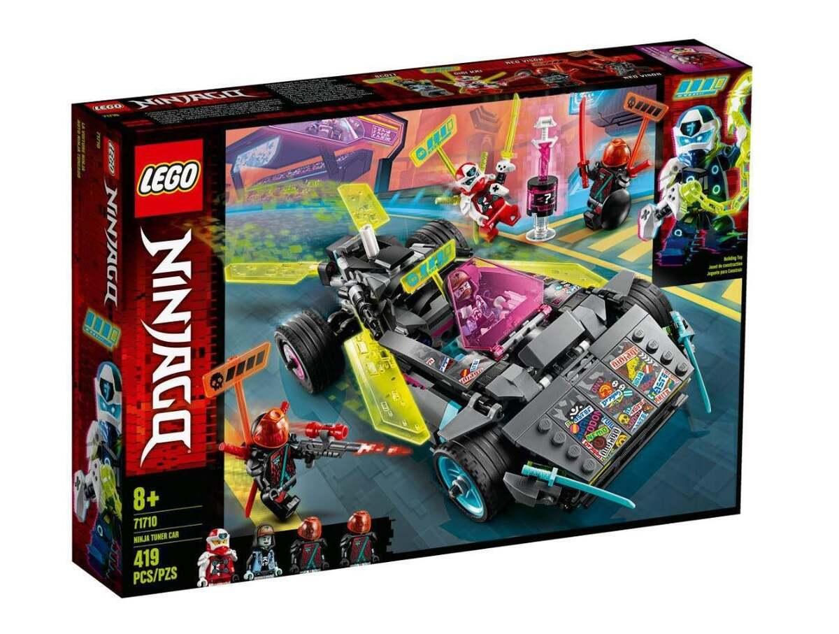 Bild 1 von LEGO Ninja-Tuning-Fahrzeug 71710