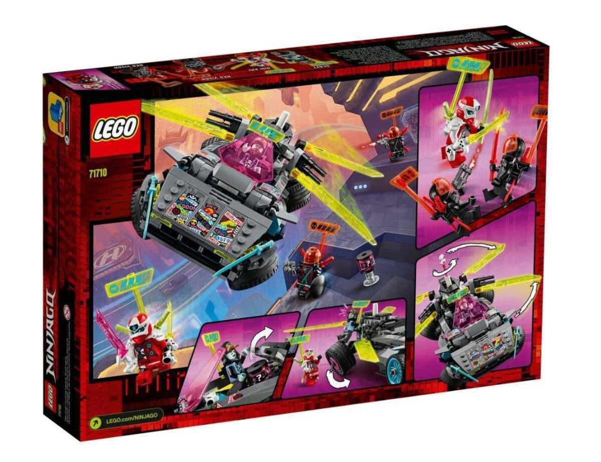 Bild 2 von LEGO Ninja-Tuning-Fahrzeug 71710