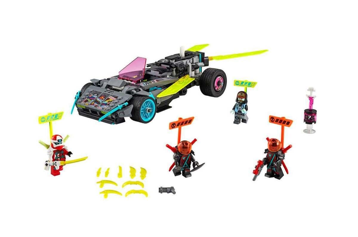 Bild 3 von LEGO Ninja-Tuning-Fahrzeug 71710