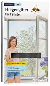 IDEENWELT Fliegengitter für Fenster, anthrazit