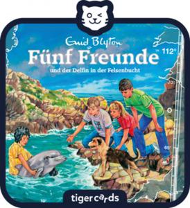 tigercard - Fünf Freunde - Folge 112: Fünf Freunde und der Delfin in der Felsenbucht