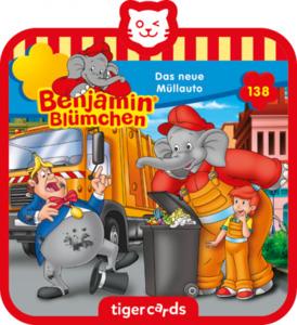 tigercard - Benjamin Blümchen - Folge 138: Das neue Müllauto