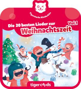 tigercard - Tigerstarke Kinderhits - Die 20 besten Lieder zur Weihnachtszeit Vol.1