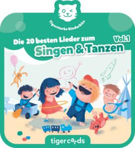 tigercard - Tigerstarke Kinderhits - Die 20 besten Lieder zum Singen & Tanzen Vol.1