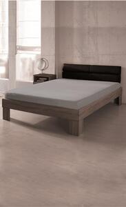 DREAMTEX Premium Jersey Spannbetttuch 140-160x200 cm, Farbe silber