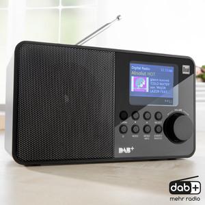 "Dual DAB+/UKW Radio mit Farbdisplay ""BR-Edition"" DAB 18 C"