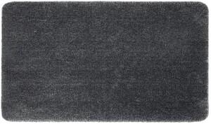 Sensino XXL-Mikrofaser Badteppich ca. 70 x 120 cm, Uni Dunkel Grau