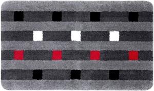 Sensino XXL-Mikrofaser Badteppich ca. 70 x 120 cm, Gilsi Grau