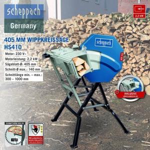 Scheppach HS410 | 405 MM Wippkreissäge