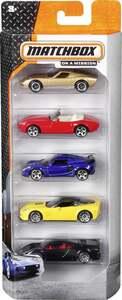 Mattel Fahrzeuge 5er Set