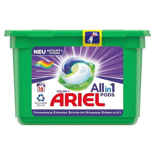 Ariel All-in-1 Pods Colorwaschmittel 16 WL