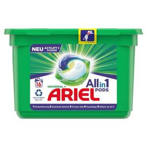 Ariel All-in-1 Pods Universal Vollwaschmittel 16 WL