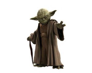 Wandsticker Star Wars Yoda