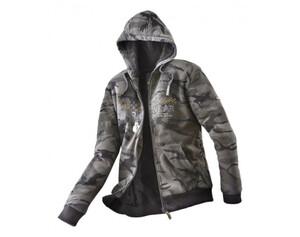 Uncle Sam Herren Sweatjacke Größe 2XL camouflage