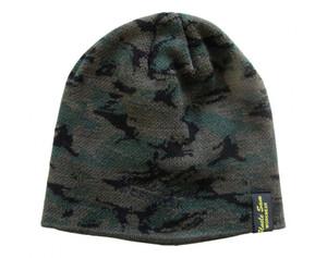 Uncle Sam Strickmütze oliv - camouflage -schwarz