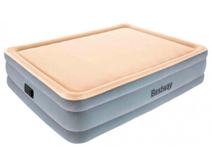 Bestway Tritech Luftbett Memory Foam mit integrierter Elektropumpe Double XL/Mid