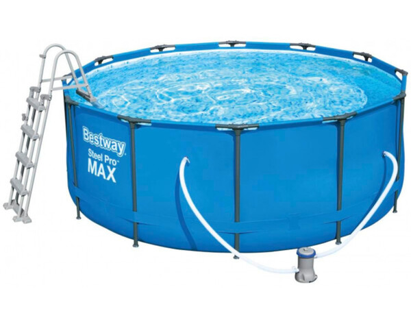 Bestway Steel Pro Max Frame Pool Komplett-Set